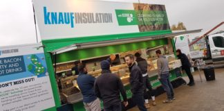 Knauf Insulation's Feel Good Factor tour at A R Aspinall in Cambridge