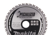 Makita has launched two new Efficut Metal cutting saw blades - the Efficut Metal 136mm or 150mm for general purpose metal cutting and the Efficut Metal 136mm or 150mm for stainless steel and thin metal cutting