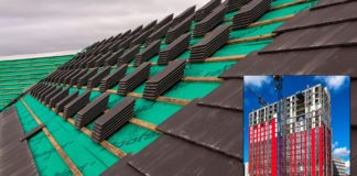 Roofshield and Wraptite from A Proctor Group rise to the challenge of protecting building structures in times of site delays