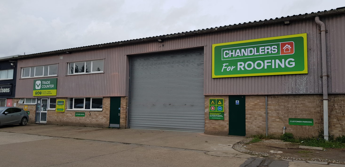 Chandlers Invests 500k In New Drive Thru Roofing Branch In Leatherhead Roofing Cladding Insulation Magazine Rci