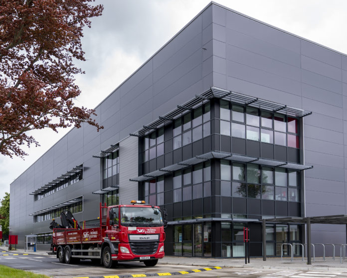 SIG Distribution's new state-of-the-art warehouse in Heathrow, West London