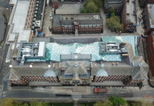 Protech Roofing has been nominated for two National Roofing Awards. One of which is for the University of Sheffield's Engineering Heartspace project (pictured)