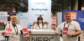 Simon Dixon, training and technical manager at the NFRC (pictured right), has been shortlisted for the UK Construction Week Role Model 2020 awards