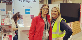 Left to right: Jennifer Kinsella and Kate Whatley have both been shortlisted for UK Construction Week Role Models for the second year running