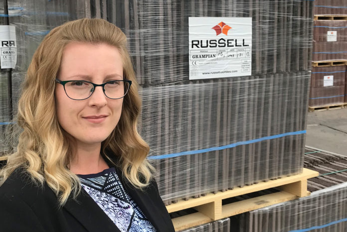 Robyn Lodge has been appointed as management accountant at Russell Roof Tiles