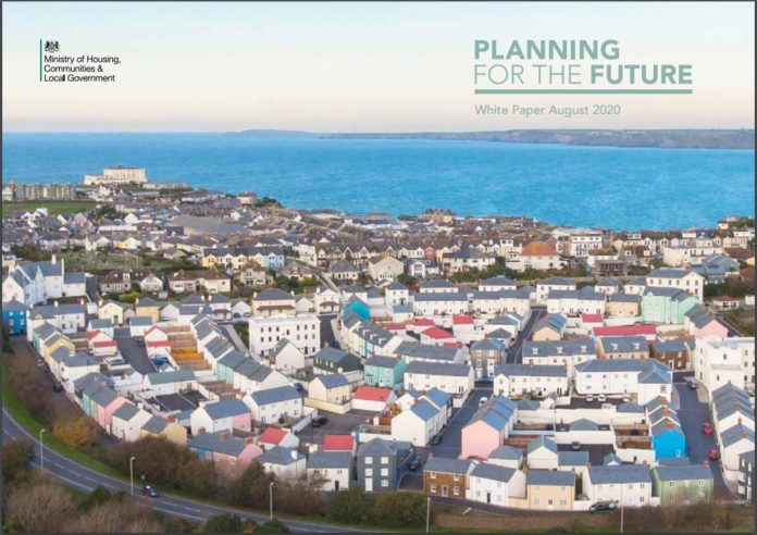Housing Secretary Robert Jenrick has unveiled plans for a major overhaul of the planning system with his 'Planning for the Future White Paper'