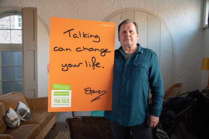 Samaritans' campaign Real People, Real Stories aims to reach men who are struggling to cope to prevent them from reaching crisis point