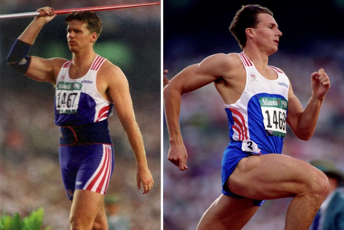 Left to right: Steve Backley OBE and Roger Black MBE will be the keynote speakers at the Virtual BMF AGM and Members Conference on 17 September