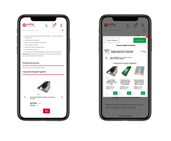 CMOStores.com and Peak's new on-site personalisation solution