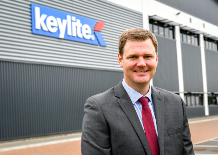 Keylite Roof Windows has appointed Jim Blanthorne as its new managing director