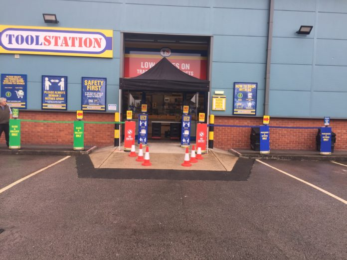 Toolstation says it is on track to open a further 60 UK branches this year