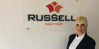 Jamie Wilds has been promoted to commercial services director at Russell Roof Tiles