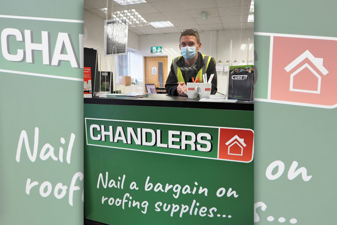 Chandlers Roofing Supplies' flagship branch on the Riverway Industrial Estate in Peasmarsh, Guildford, is now open