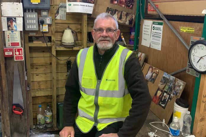 David Fogg is yard operative at Howarth Timber & Building Supplies' York branch