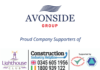 Avonside Group is a proud company supporter to the Lighthouse Construction Industry Charity
