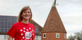 Petra Bones is corporate partnerships manager at Demelza Hospice Care for Children