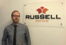 Tom Woodhouse has joined Russell Roof Tiles as a technical manager