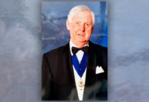 Neville Harris gave over 40 years' service to the NFRC