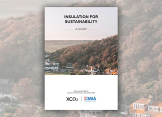The 'Insulation for Sustainability' document looks at how to achieve an effective thermal insulation strategy