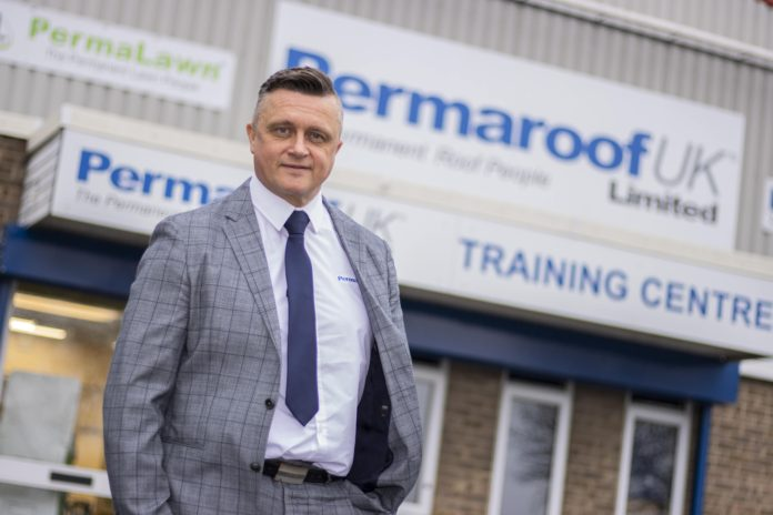 Adrian Buttress is managing director at Permaroof