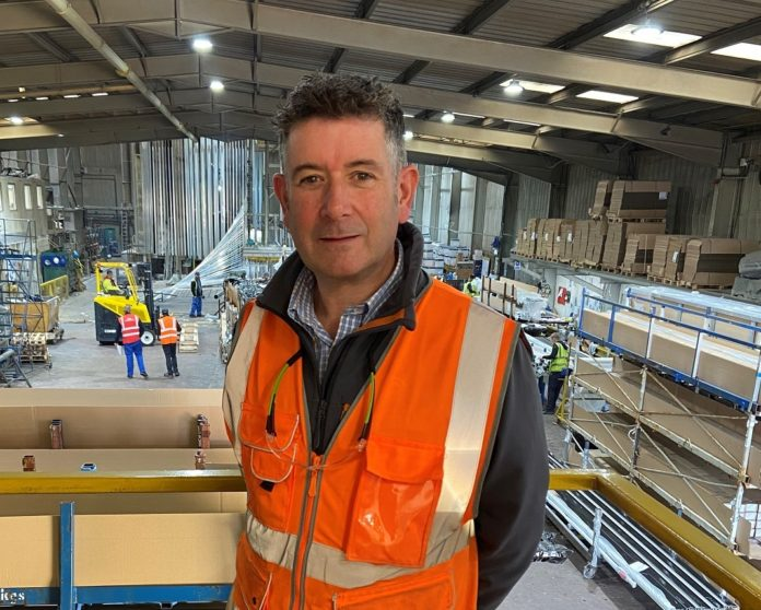John Park-Davies, managing director of Vertik-Al