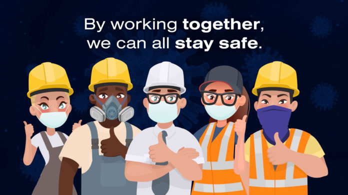 The CICV Forum is reminding the construction sector about the importance of wearing the right type of mask