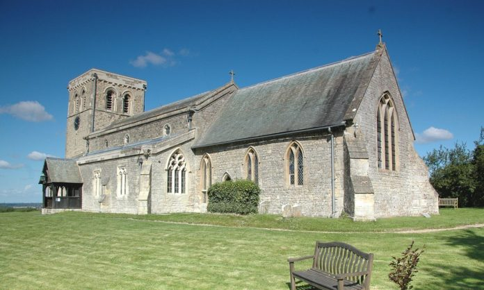St Mary's Church, Garsington. Picture credit: Wikimedia Commons