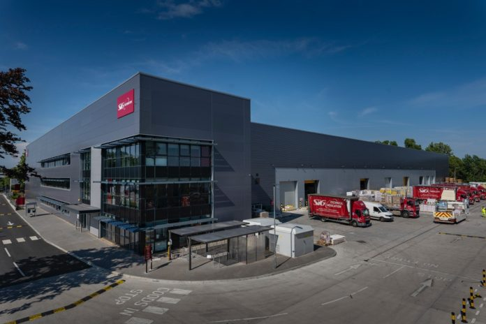 SIG Distribution's state-of-the-art warehouse at Valor Park, West London