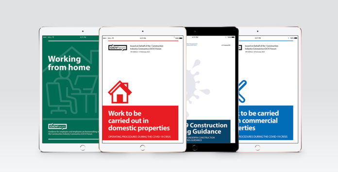 The CICV Forum has made three revised advice documents available to companies, associations and workers across the country