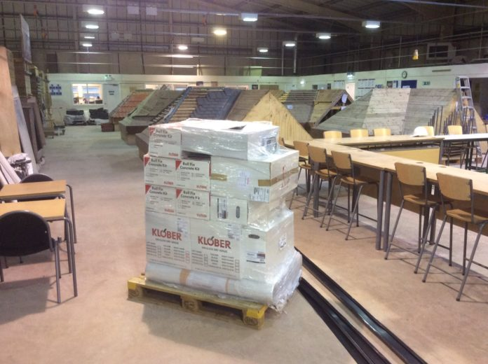 Klober has donated materials to a number of colleges nationwide