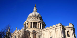 Sussex Asphalte recycled some of the asphalt on the refurbishment of St Paul's Cathedral