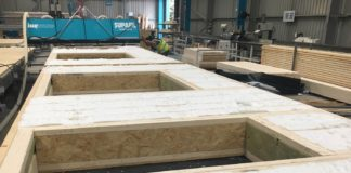 Knauf Insulation's Blowing Plate Insulation System ensures that cavities are filled to the correct thickness
