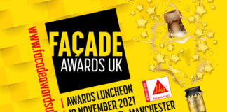 The closing date for entries for the Façade Awards UK is 2 July, so enter now!