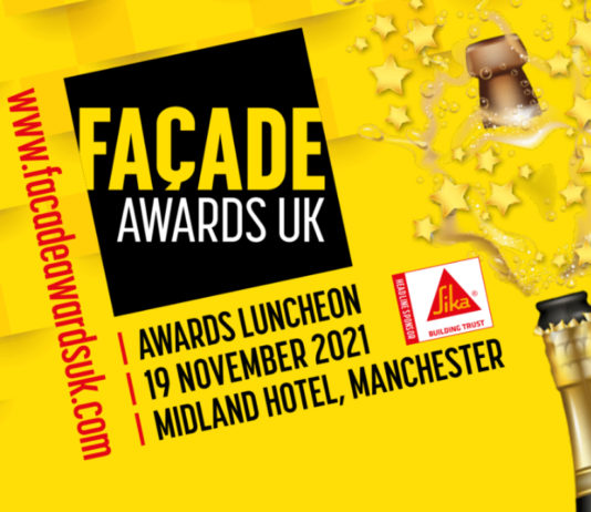 The closing date for entries for the Façade Awards UK is 25 June, so enter now!