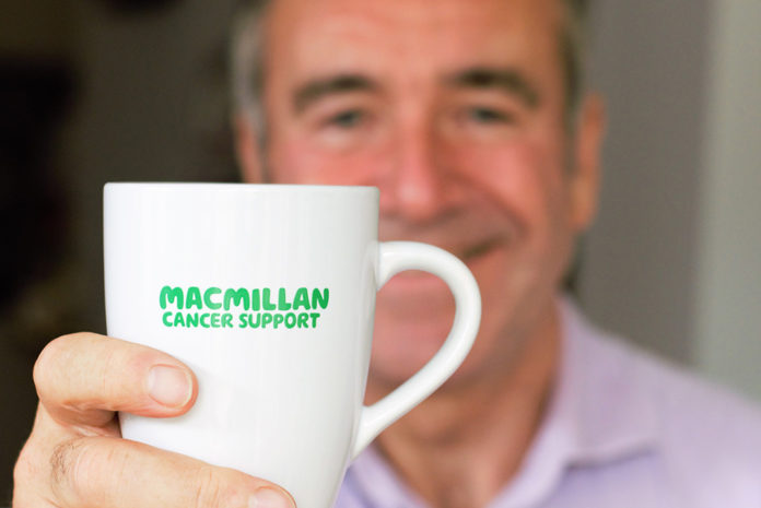 Peter Johnson, chairman of Vivalda Group is delighted to support the valuable work of Macmillan.