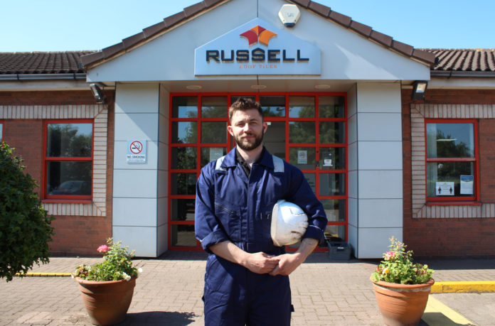 Otto Mathiesen is the maintenance manager at Russell Roof Tiles.