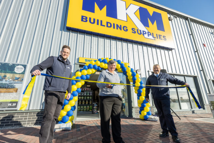 MKM Building Supplies' new Peterhead branch was music to the ears of the trade and general public, when the merchant officially opened the doors of its new flagship branch in north east Scotland.